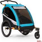 Przyczepka rowerowa dla dziecka Burley D'lite X Aqua