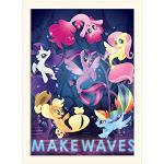 Pyramid International My Little Pony film (Make Faves) - zamontowane pamiątki z nadrukiem 30 x 40 cm, papier, wielokolorowy, 30 x 40 x 1,3 cm