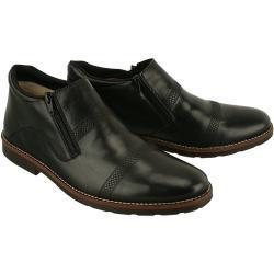 RIEKER 15381-00 black, botki męskie