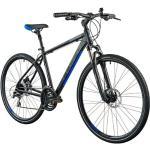 Rower crossowy INDIANA X-cross 3.0 M21 męski Czarno-niebieski