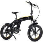 Rower elektryczny DUCATI Scrambler SCR-E SportM17 20 cali męski Czarno-żółty