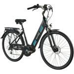 Rower elektryczny MOOBY 1.5 D19 28 cali damski Czarno-niebieski