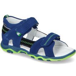 Sandały Chłopięce Bartek 118240-02 Kobaltowe zamsz