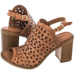 Sandały Venezia Brązowe 030170608 COCONU (VE539-a)