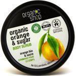 Scrub do ciała sycylijska pomarańcza - Organic Shop