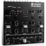 Skytec STM-2250 4-kanałowy mikser USB SD MP3 FX
