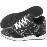 Sneakersy Guess Ravyn Black/White FL7RAN PEL12 (GU53-a)