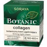 Soraya Pielęgnacja twarzy Botanic collagen – krem ujędrniający na noc 50-60+ gesichtscreme 75.0 ml