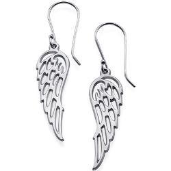 Srebrne kolczyki – Skrzydła anioła