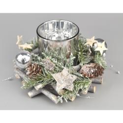 Świecznik bożonarodzeniowy Pima, śr. 16 cm