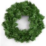 Sztuczny wieniec zielony, 30 cm