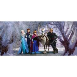 Tapeta fotograficzna dziecięca Kraina Lodu, 202 x 90 cm