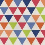 Tapeta kolorowe trójkąty l29710