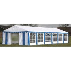 vidaXL Namiot imprezowy 12 x 6 m, niebieski