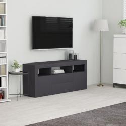 vidaXL Szafka pod TV, szara, 120x30x50 cm, płyta wiórowa