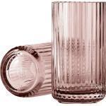 Wazon Lyngby 15 cm burgundy szklany