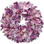 Wieniec sztuczny Hortensja fioletowa, śr. 24 cm