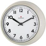 Zassenhaus 72730 Retro zegar ścienny, średnica 24 cm, kremowy