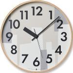 Zegar Awa Kasumi beżowy