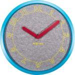 Zegar na ścianę Calmer Nextime niebieski, szary (3203)