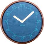 Zegar ścienny Calmest Nextime niebieski (3200)