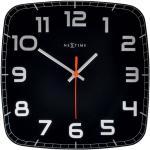 Zegar ścienny Classy Nextime 30 x 30 cm, czarny (8816 ZW)