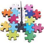 Zegar ścienny Do It Yourself Puzzle multi colour by Karlsson