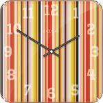 Zegar ścienny kwadratowy Smithy Dome Nextime 35 x 35 cm (3169)