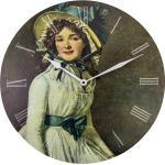 Zegar ścienny Portrait of Mrs. Seriziat Nextime 50 cm (3186)