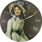 Zegar ścienny Portret Pani Sériziat