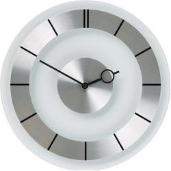 Zegar ścienny Retro srebrny