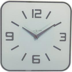 Zegar ścienny Shoko biały