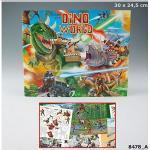 Zestaw kreatywny dino world 8478 top model dinozaury kolorowanka